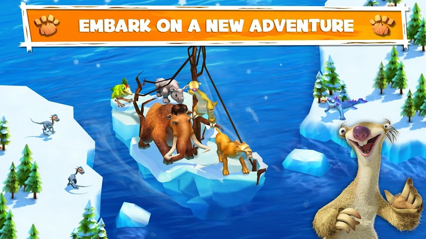 Screenshot 1 Ice Age Adventures