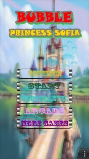Bubble Princess Sofia Game