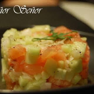 Cucumber Tartare.