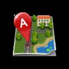 GPS座標 icon