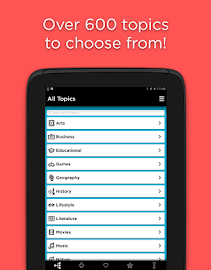 QuizUp Screenshot 1