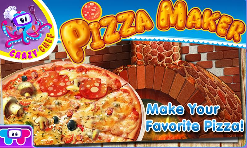 Pizza Maker Crazy Chef Game - screenshot
