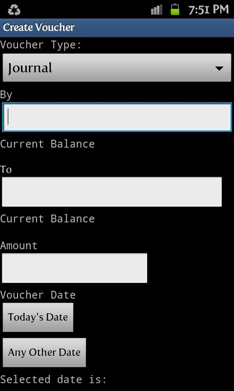 Financial Accounting Free - screenshot