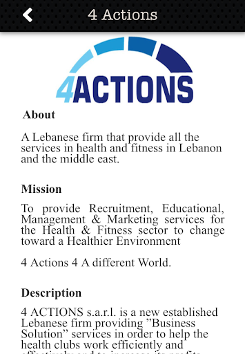 4 Actions