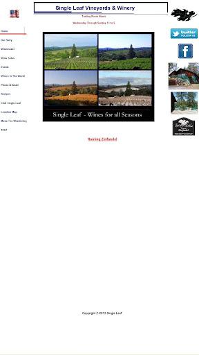 Single Leaf Vineyards Winery