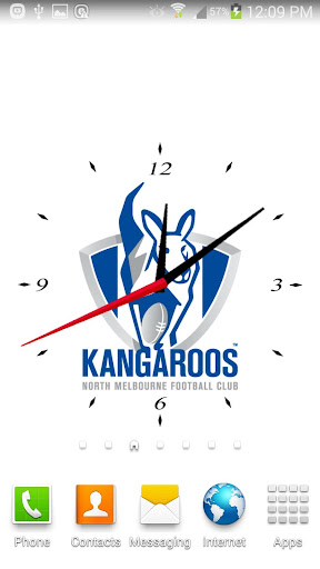 North Melbourne Analog Clock