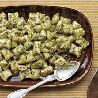 Potato Gnocchi with Pesto