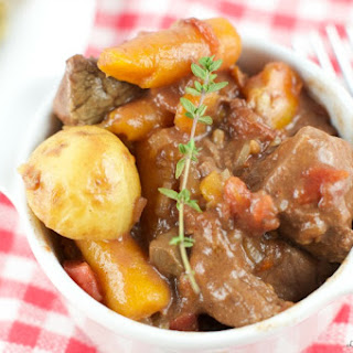 Slow Cooker Smokey Beef Stew.