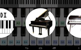 Screenshot of Piano For You
