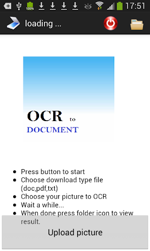OCR to document