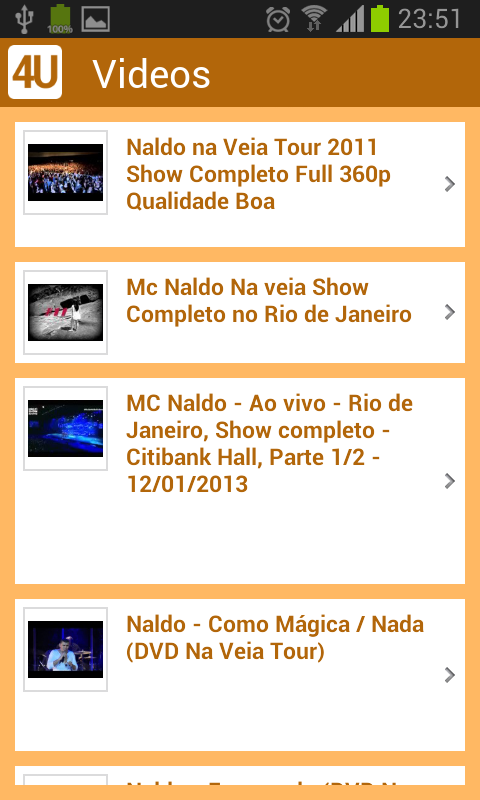 Naldo - screenshot