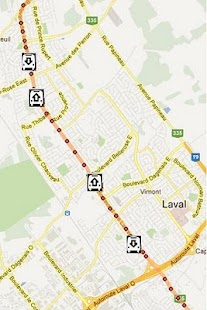 Laval STL Bus Tracker Pro- screenshot thumbnail