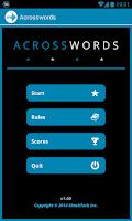 Screenshot of Acrosswords