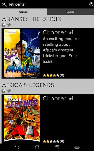 Leti Center - Comics Games