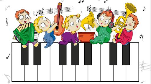 ベビーピアノ。無料ゲーム