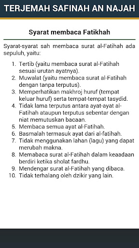 Kitab Safinah An Najah