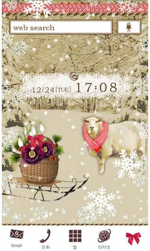 Snow Snow Sheep for[+]HOME