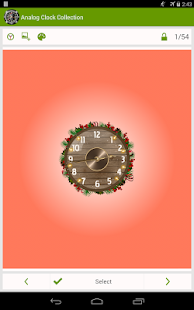 Analog Clock Wallpaper/Widget - screenshot thumbnail