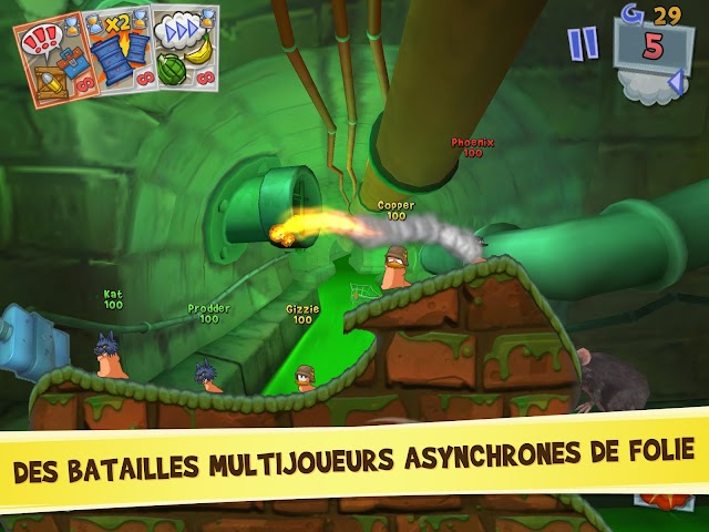 android Worms 3 Screenshot 7