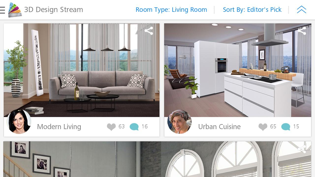 Homestyler interior design android apps on google play for Homestyler 3d