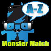 Monster Match Alphabet