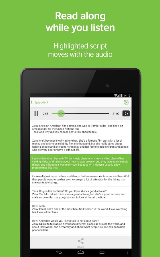 LearnEnglish Podcasts- screenshot