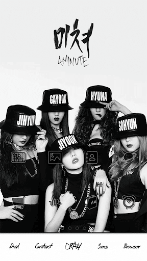 4minute_Crazy dodol theme