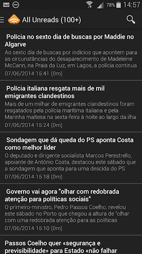 RSS Notícias Portugal