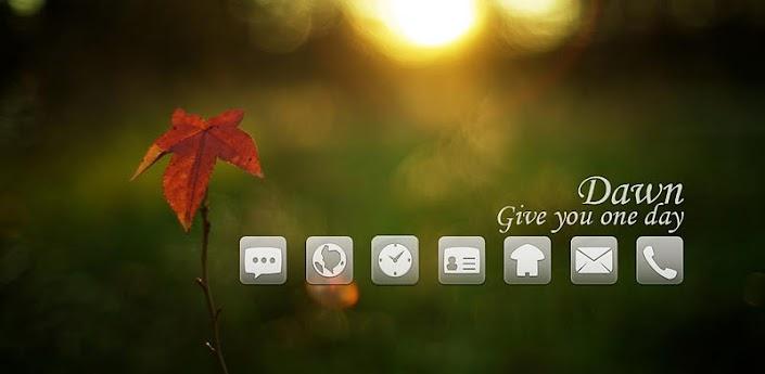 Dawn Theme GO Launcher EX v1.1