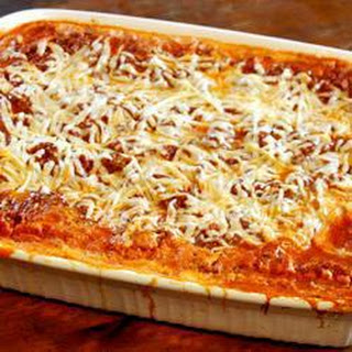 Beef Lasagne with Ricotta.
