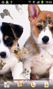 Puppy Live Wallpaper - screenshot thumbnail