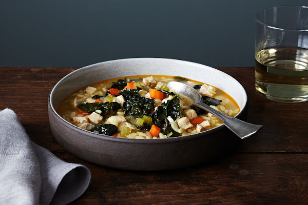 A weeknight soup to help you stave off a late-winter cold.