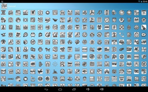 Charcoal Icon Pack v1.7