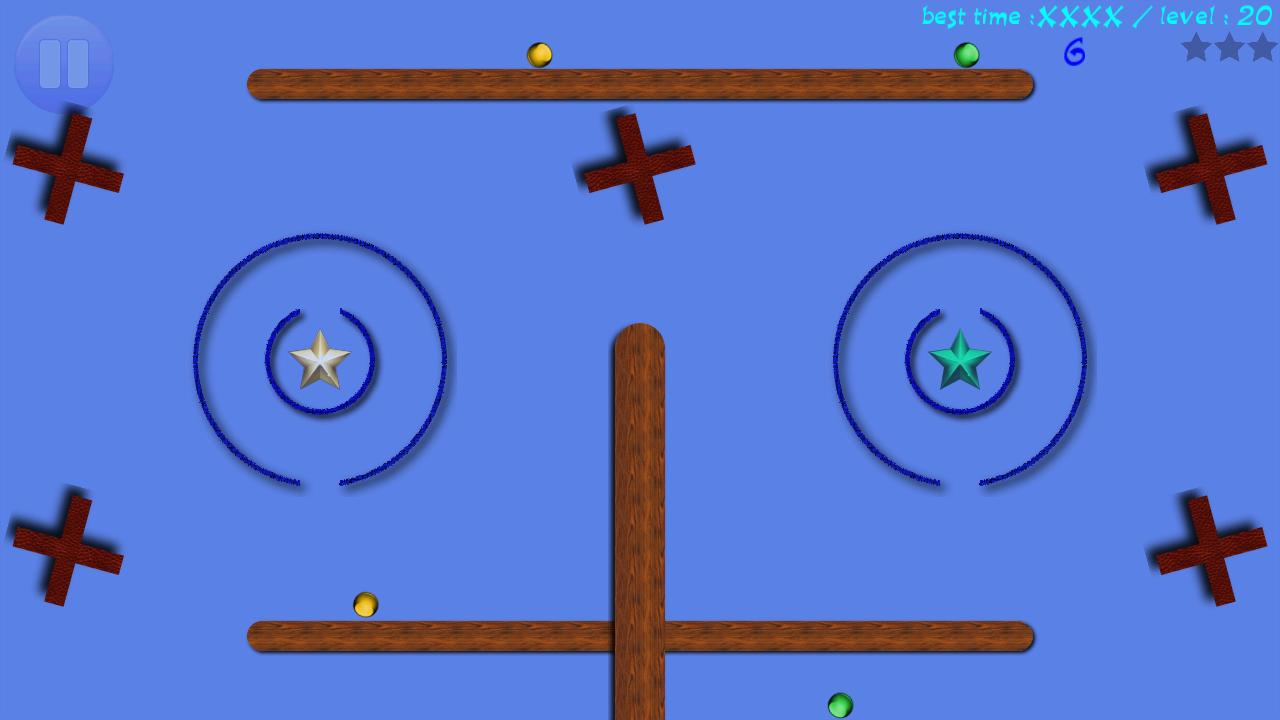 Balls and Rings - time killer - screenshot