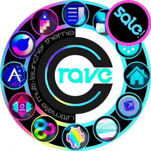 CRAVE Launcher Theme 個人化 App LOGO-APP試玩
