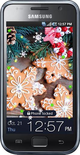 Christmas Cookies HD LWP