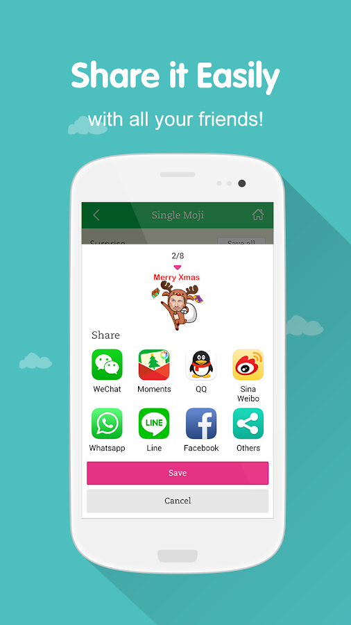 MojiMe for WeChat- screenshot