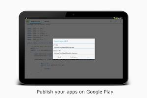 Screenshot of AIDE Premium Key