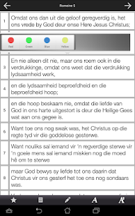 Afrikaans Bible - screenshot thumbnail