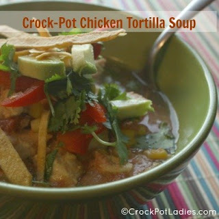 Crock-Pot Chicken & Tortilla Soup.