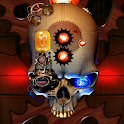 Steampunk Skull Live Wallpaper logo
