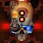 Steampunk Skull Live Wallpaper icon