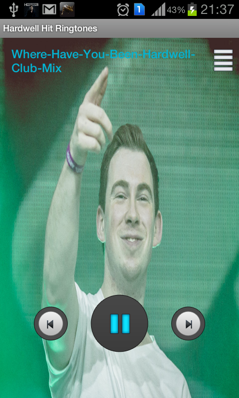 Hardwell Hit Ringtones - screenshot