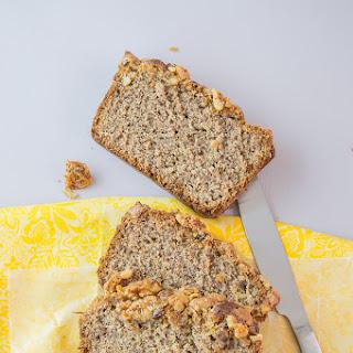 Banana Flax Seed Bread