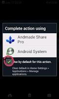 Screenshot of Andmade Share Pro