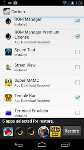 Helium - App Sync and Backup Screenshot 4