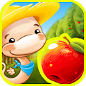 Fruit Worm Bubble HD - FREE icon