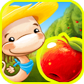 Fruit Worm Bubble HD - FREE