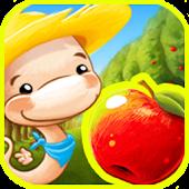 Fruit Worm Bubble HD - FREE