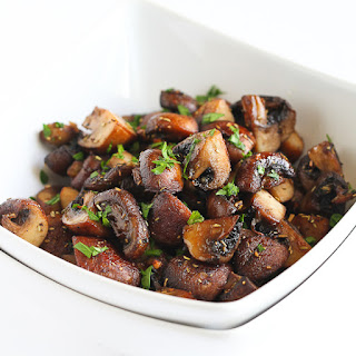Easy Roasted Mushrooms with Rosemary & Garlic